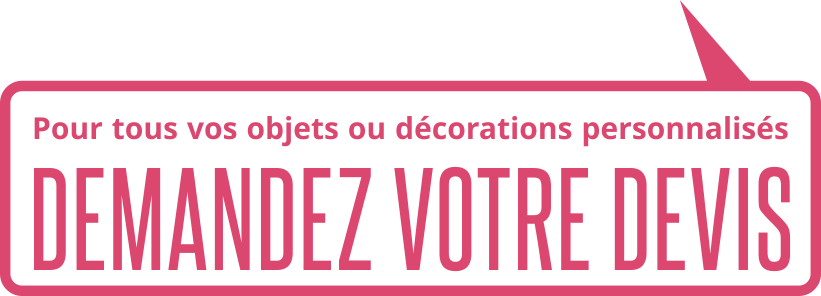 Decoration personnalise 40 64 11